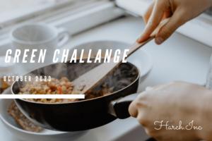 ヴィーガン食を生活に取り入れる「#グリーンチャレンジ1000」に参加します